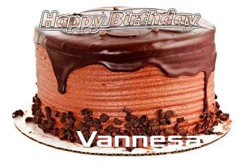 Happy Birthday Wishes for Vannesa
