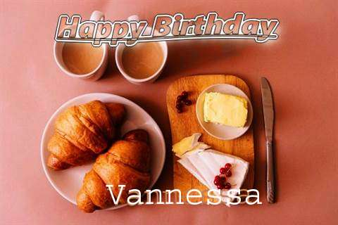 Happy Birthday Wishes for Vannessa