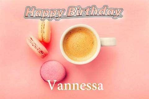 Happy Birthday to You Vannessa