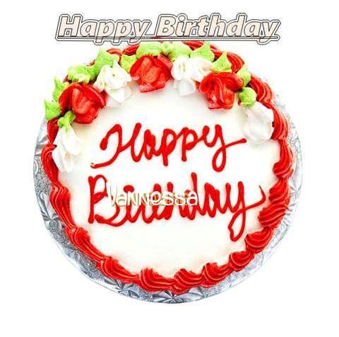 Happy Birthday Cake for Vannessa