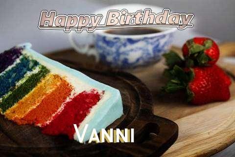 Happy Birthday Vanni