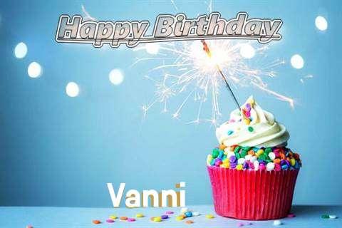 Happy Birthday Wishes for Vanni