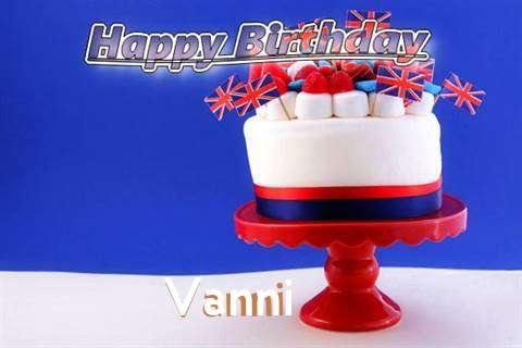 Happy Birthday to You Vanni