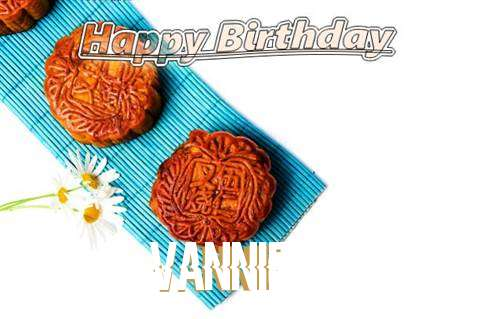 Birthday Wishes with Images of Vannie