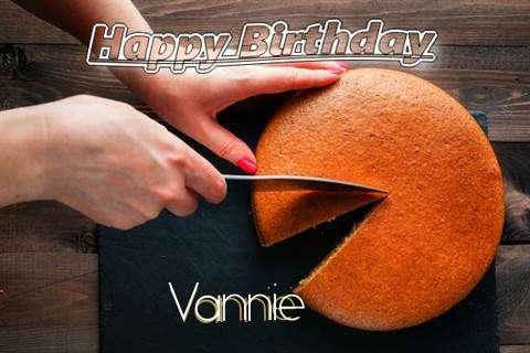 Happy Birthday to You Vannie