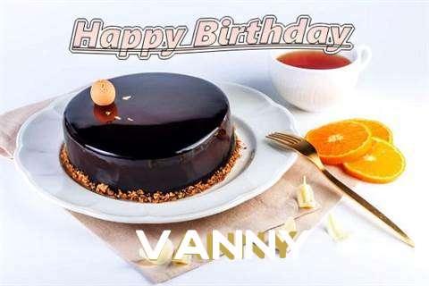 Happy Birthday to You Vanny