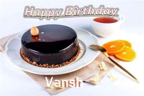 Happy Birthday to You Vansh
