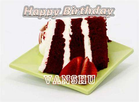 Birthday Wishes with Images of Vanshu