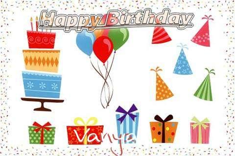 Happy Birthday Wishes for Vanya