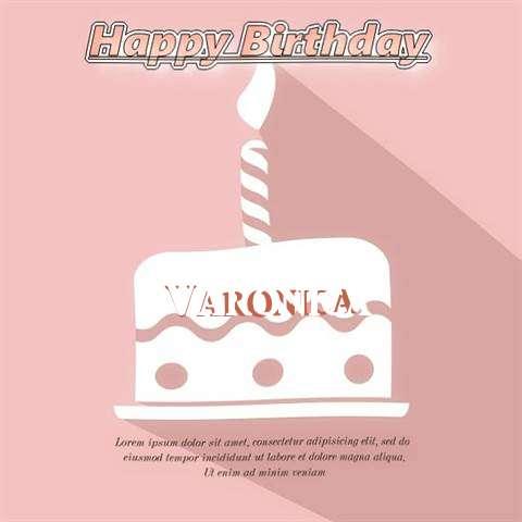 Happy Birthday Varonica