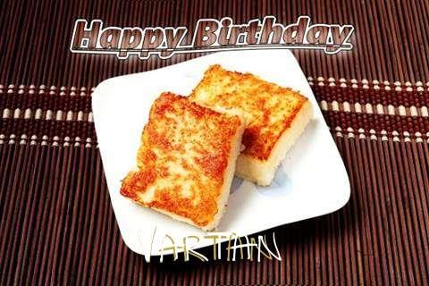 Birthday Images for Vartan