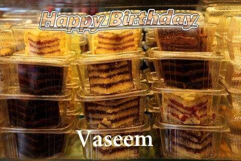Happy Birthday to You Vaseem