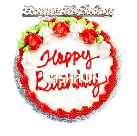 Happy Birthday Cake for Vashawn