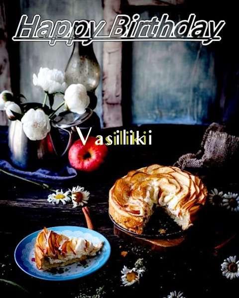 Happy Birthday Vasiliki Cake Image