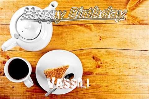 Vassili Birthday Celebration