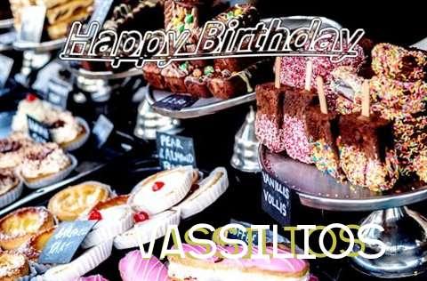 Happy Birthday to You Vassilios