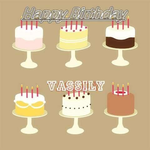 Vassily Birthday Celebration