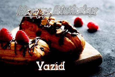 Happy Birthday Vazid