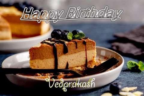 Happy Birthday Vedprakash Cake Image
