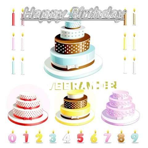 Happy Birthday Wishes for Veerander