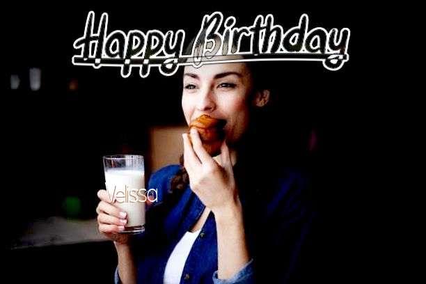 Happy Birthday Cake for Velissa