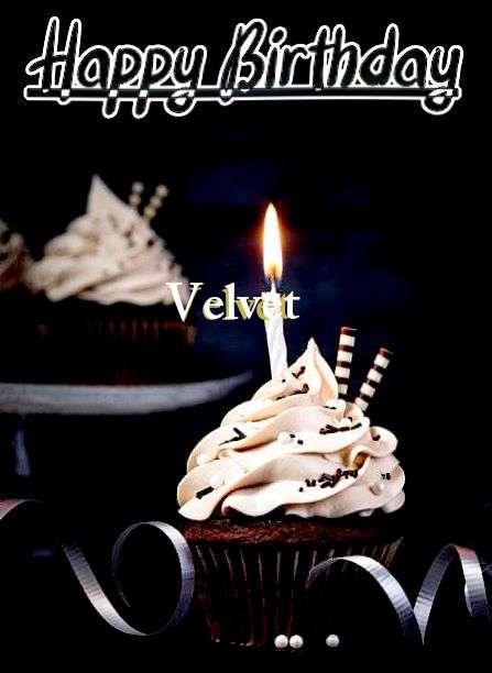 Happy Birthday Cake for Velvet