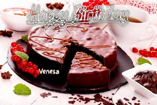 Happy Birthday Wishes for Venesa