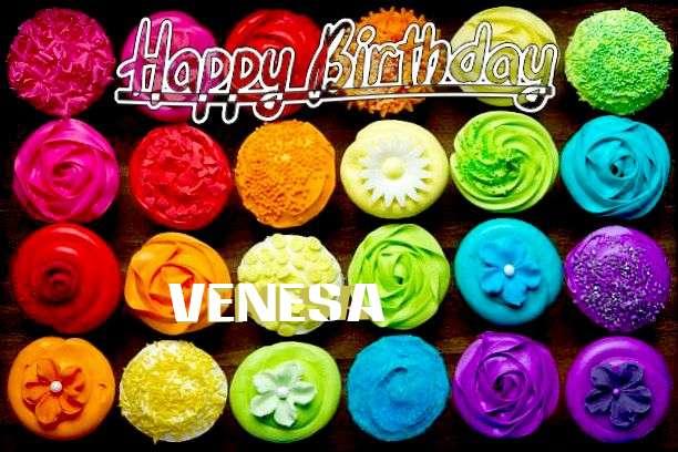 Happy Birthday to You Venesa