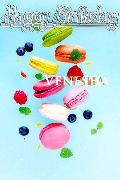 Happy Birthday Venesha Cake Image