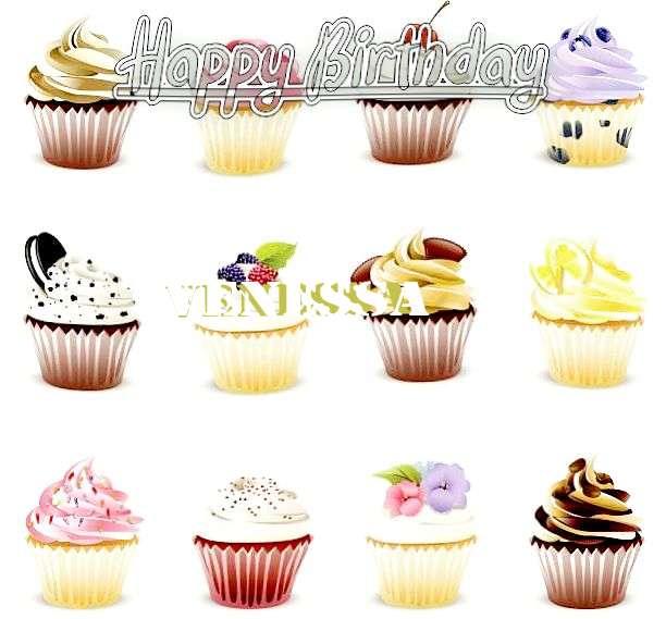 Happy Birthday Cake for Venessa