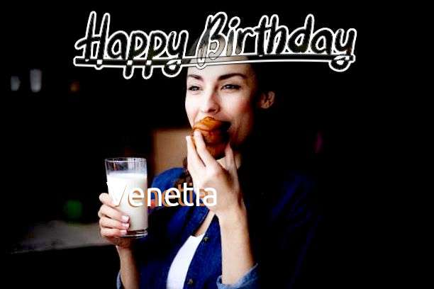 Happy Birthday Cake for Venetia