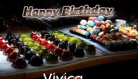 Happy Birthday Cake for Vivica