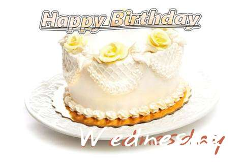 Happy Birthday Cake for Wednesday