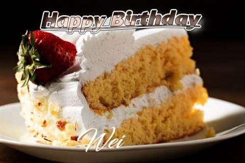 Happy Birthday Wei