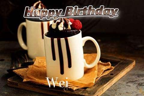Wei Birthday Celebration