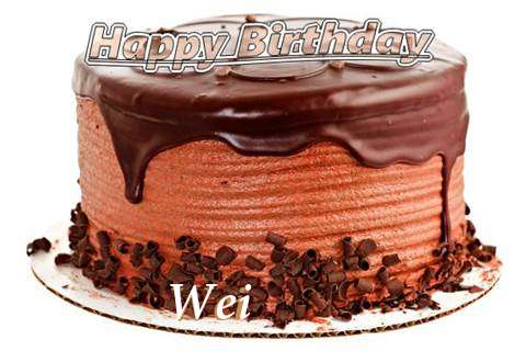Happy Birthday Wishes for Wei