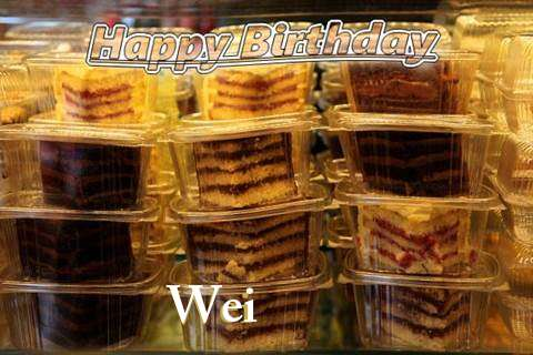 Happy Birthday to You Wei