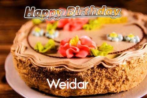 Happy Birthday Weidar