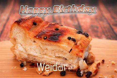 Weidar Birthday Celebration