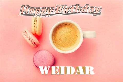 Happy Birthday to You Weidar