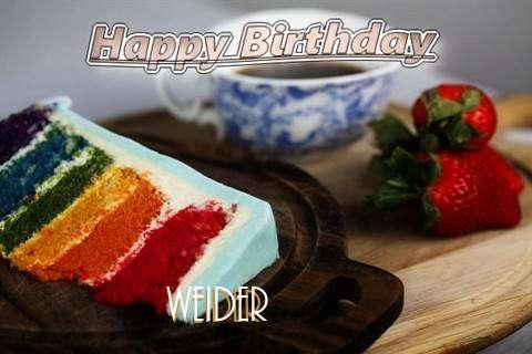 Happy Birthday Weider