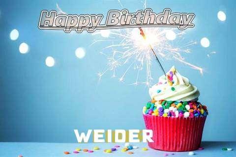 Happy Birthday Wishes for Weider
