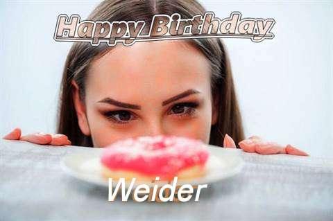 Weider Cakes