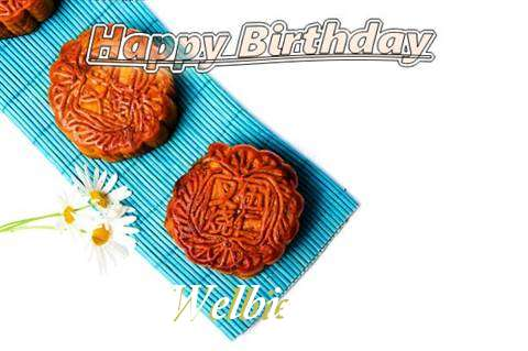 Birthday Wishes with Images of Welbie