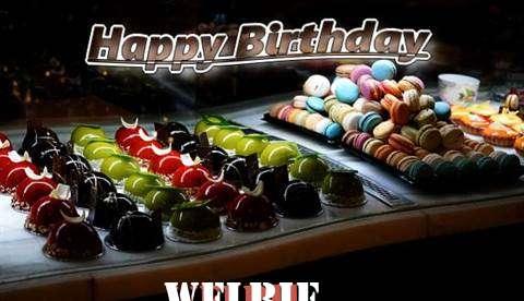 Happy Birthday Cake for Welbie