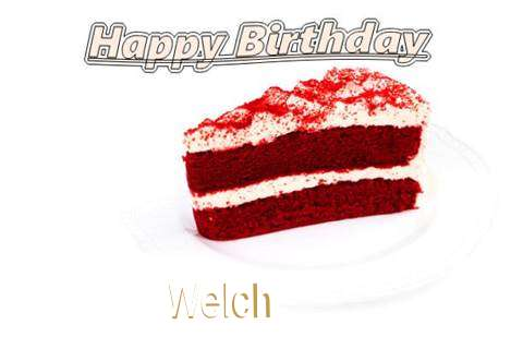 Birthday Images for Welch