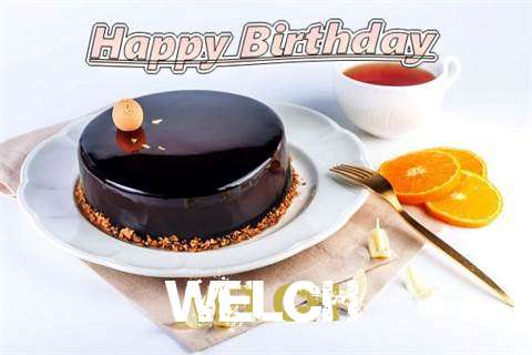 Happy Birthday to You Welch