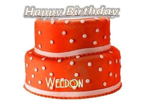 Happy Birthday Cake for Weldon