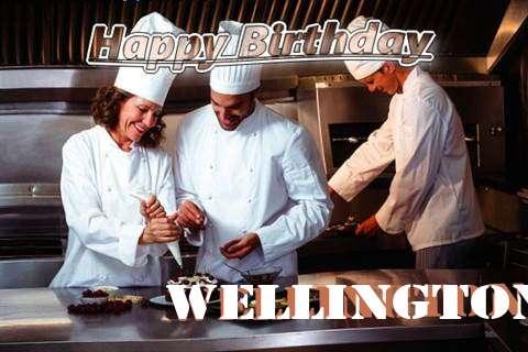Happy Birthday Cake for Wellington