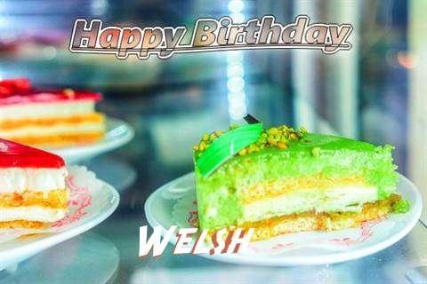 Welsh Birthday Celebration